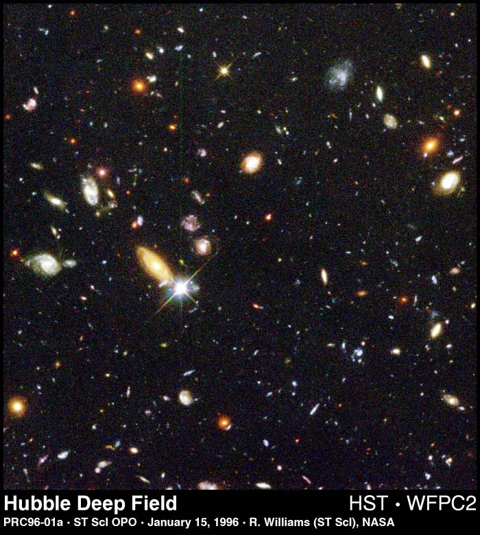 Deep Field Galaxies